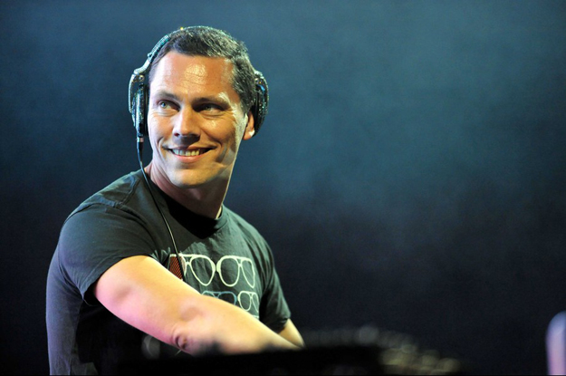 AVENCHES :  Tiesto performs during 20th Rock Oz'Arenes